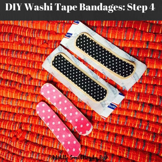 DIY Washi Tape Bandages by Arsh Step 4