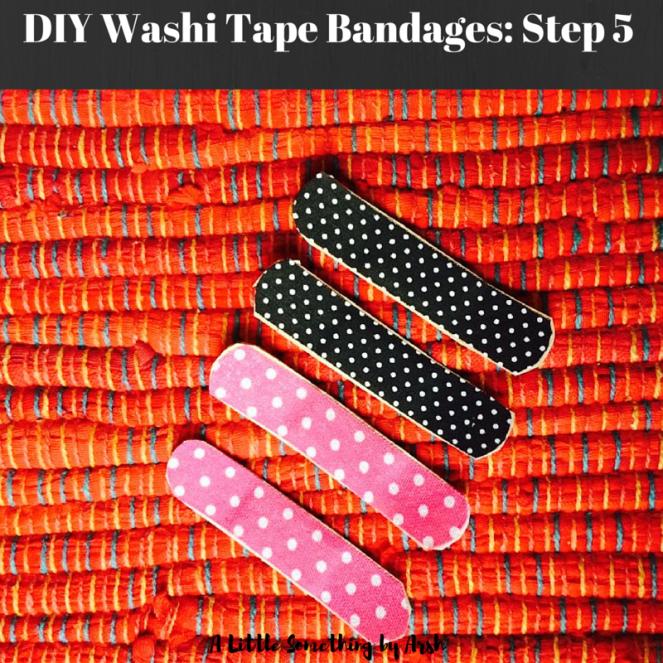 DIY Washi Tape Bandages by Arsh Step 5