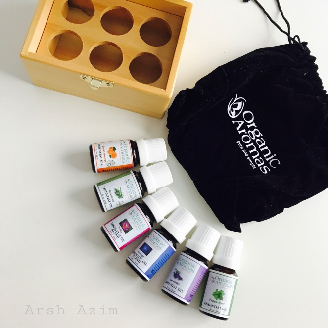 Essential Oils by Organic Aromas