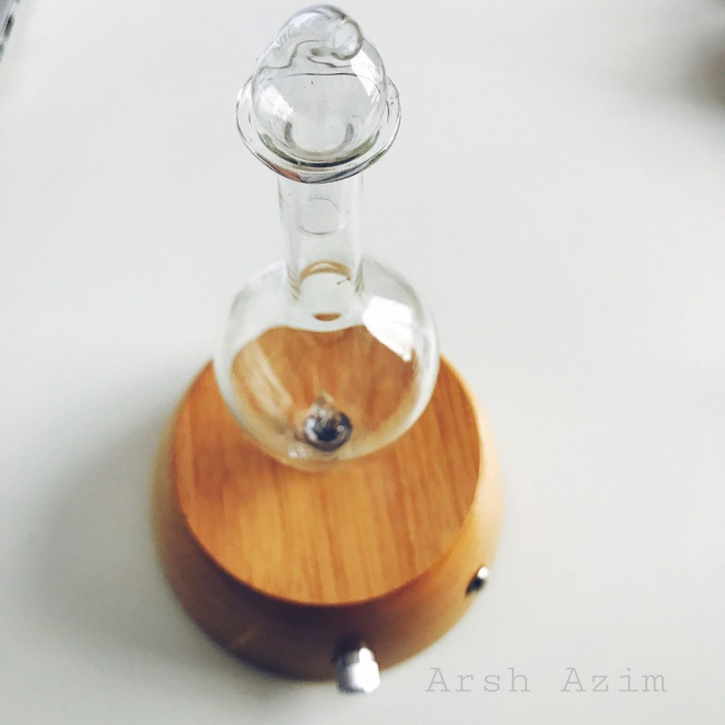 Nebulizing Diffuser by Organic Aromas